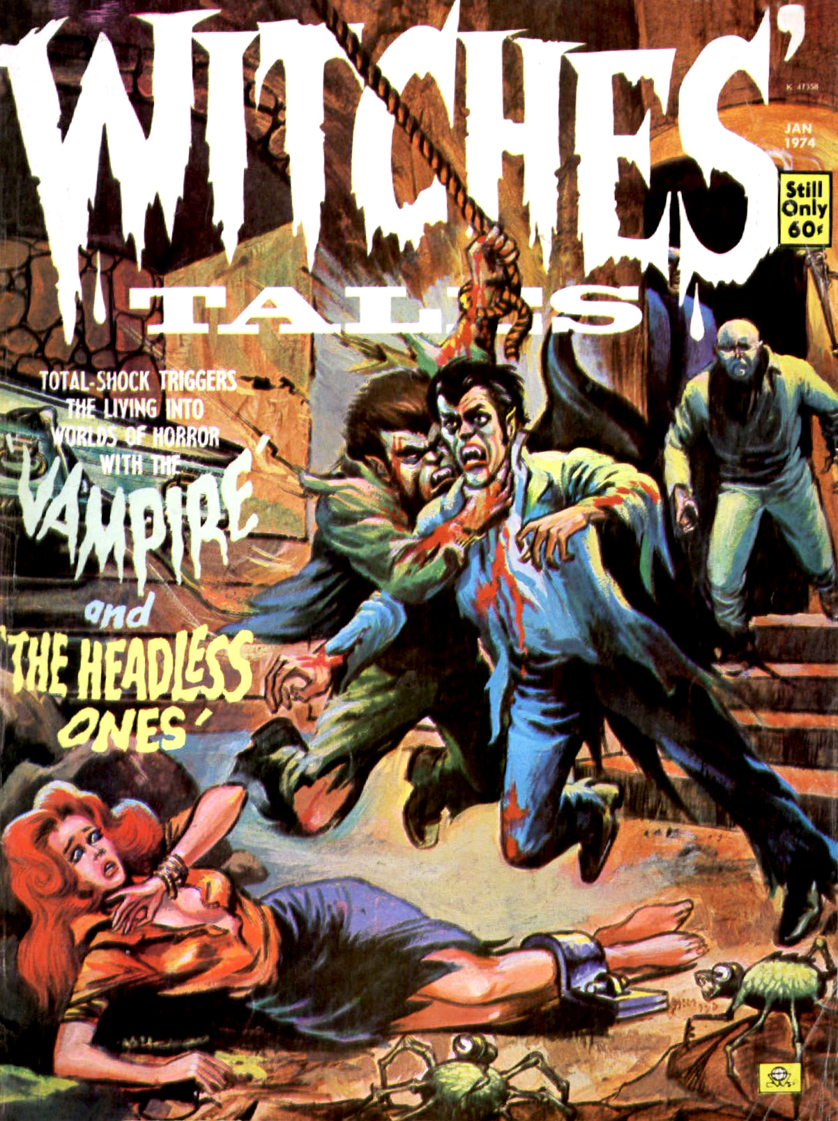 Witches' Tales Vol. 6 #1 (Eerie Publications 1974)