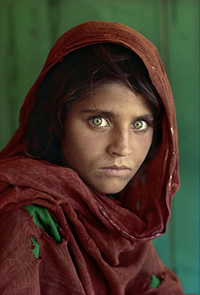 Afghan Girl (Steve McCurry, National Geografic)