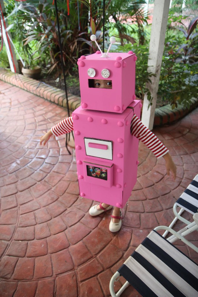 Aina, the Pink Robot