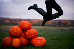 Spooky - #29 of #100 (Olivia L'Estrange-Bell) Tags: autumn halloween jump trickortreat pumpkins autumnleaves jumps englishcountryside autumnsun allhallowseve halloweenedition canoneos5dmarkii pumpkinjump oliviabell oliviabellphotography spookypumpkins 100jumps halloweenjump