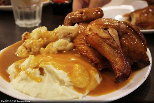 The Rotisserie - Cauliflower and Mashed Potato
