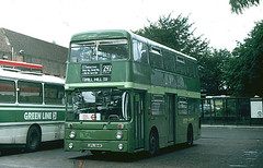 AN 84 St Albans Bus Garage 1 August 1987 (national_bus_510) Tags: