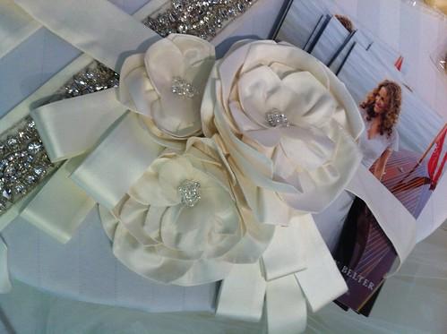 Lea-Ann Belter Spring 2012, bridal corsage belt