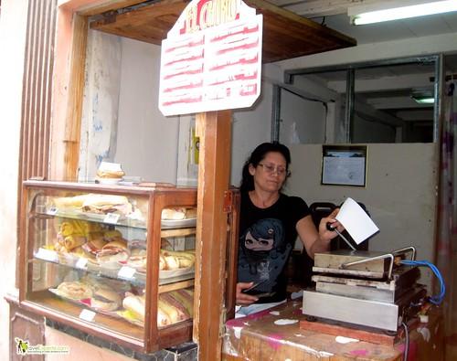 Cuban Sandwich Stand - Havana Vieja - Cuba