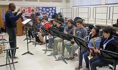 big band practice