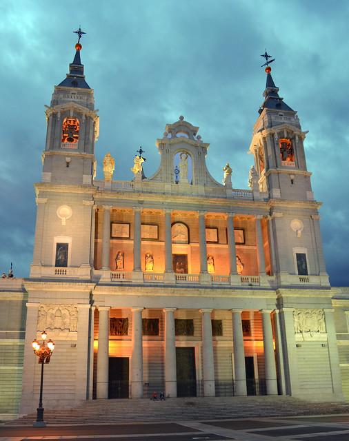 Cathedral Almudena,  (Catedral de Santa María la Real de la Almudena) Madrid
