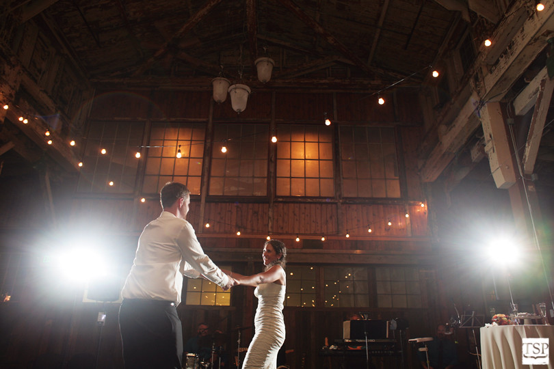Bride and Groom First Dance at Sodo Park