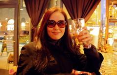 Yoko (JuhaOnTheRoad) Tags: woman usa newyork beer girl brooklyn bar williamsburg yoko