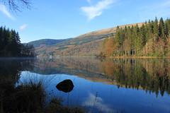 Autumn at Loch Ard (jaggystu71) Tags: autumn lake water scotland loch trossachs lochard