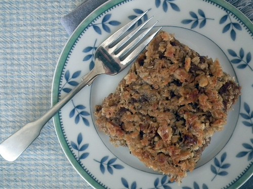 Lazy Vegan Oatmeal Cake