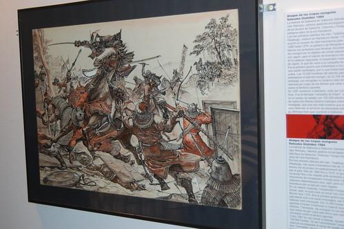 Exposicion Samurais de papel Salon del Manga XVII
