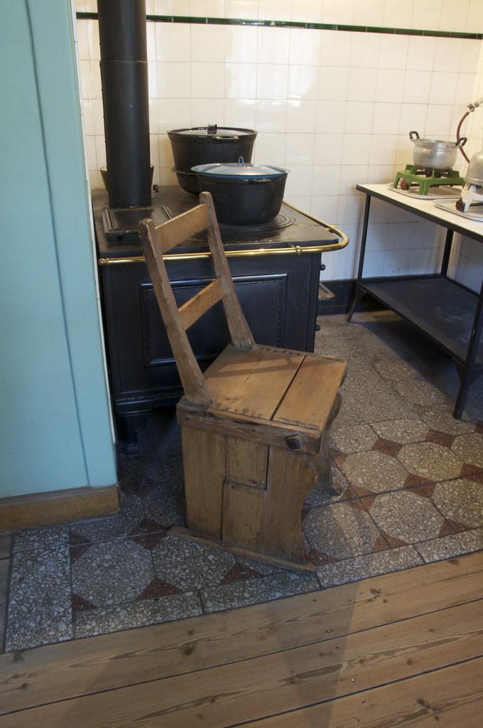 Køkken med støbejernskomfur (Nationalmuseet) Tags: kitchen museum ...