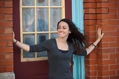 Nicole 2011 (Chel .) Tags: justin dog portraits balloons nicole texas benny brunette ponder