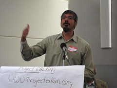 Shahid Buttar at Committee to Stop FBI Repression's conference