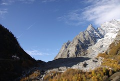 Ds la sortie du tunnel du Mont Blanc ... (Larch) Tags: autumn shadow sky italy cloud mountain alps fall rock montagne alpes automne italia niceshot ombre glacier ciel nuage larch courmayeur soe eglise rocher italie wow1 valdaoste mlze valledaoste concordians tunneldumontblanc oltusfotos glacierdelabrenva mygearandme blinkagain notredamedelagurison flickrstruereflection1