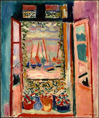 Open Window by Henri Matisse