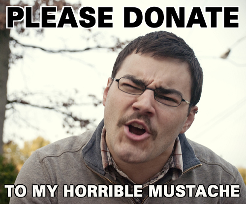 donate or else