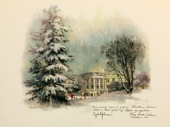 160. Lyndon B. Johnson White House Christmas Card