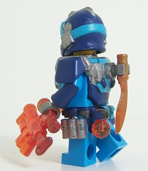 ADU Special Forces Officer V2 (Silenced_pp7) Tags: blue sky orange brick paint arms lego fig painted alien mini aliens figure warriors minifig forge trans custom defence unit minifigure adu brickarms flamegun brickforge brickwarrior minifigcat coreburner