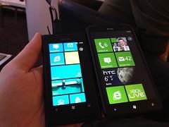 Nokia Lumia 800 & HTC Titan
