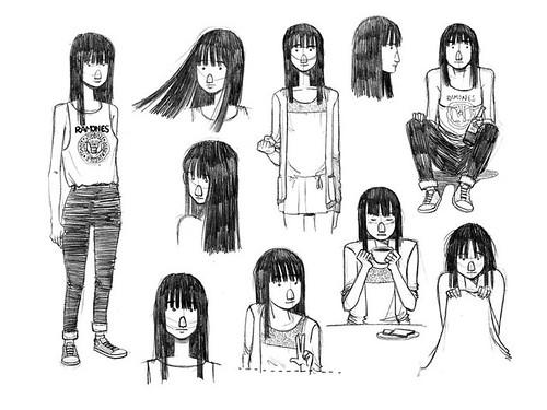 amores minúsculos sketches. 2011