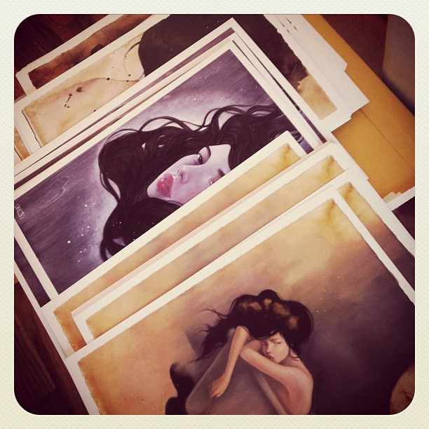 Prints are ready! Shop will maybe reopen tonight!