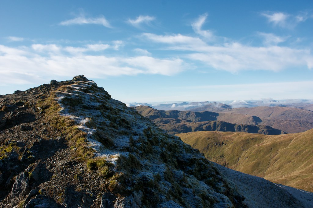 Summit of Beinn Ghlas