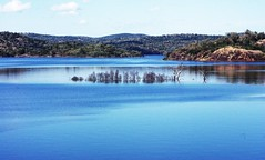 """Heaven (""""Sheer Luck Photography"""") Tags: blue trees sky reflection water clouds landscape heaven"""