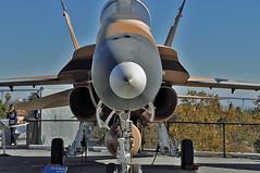McDonnell Douglas F/A-18A Hornet (skyhawkpc) Tags: ca nikon sandiego aircraft aviation navy saints hornet naval usnavy usn allrightsreserved mcdonnelldouglas 2011 d90 fa18a ussmidwaymuseum vfc13 162901 garyverver