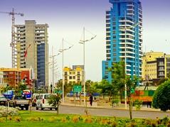 Antofagasta - Costanera y edificios (Victorddt) Tags: chile buildings edificios sonycybershot costanera antofagasta iiregión dsch55