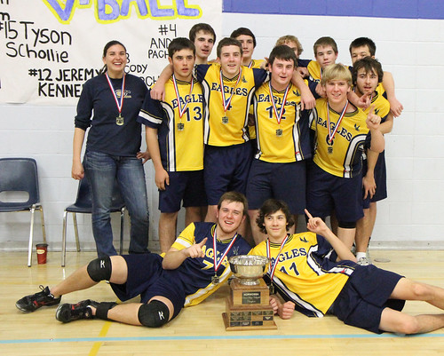 Sr. Boys Volleyball Gold - Dryden Eagles