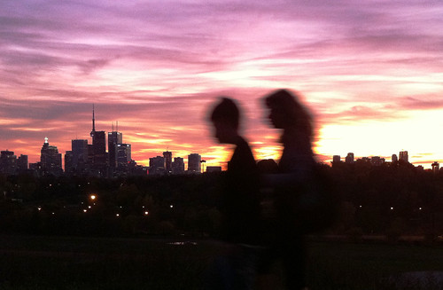 Broadview sunset silhouettes - #309/365 by PJMixer