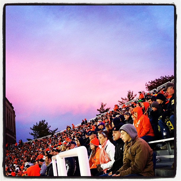 Twilight Descends #chambana #Illini