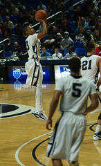 Tim Frazier For Three! (acaben) Tags: basketball pennstate collegebasketball 3points ncaabasketball psubasketball timfrazier pennstatebasketball