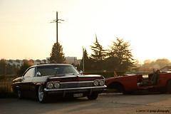 "1965 Impala ""El Diablo"" (LOWTECH Magazine) Tags: chevrolet switzerland geneva astro chevy impala coupe sunet 1965 slammed customcar kustom supremes goldenlight bellflower bagged widewhites crazycruisers"