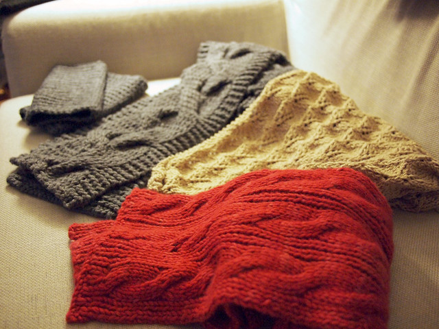 Knitting Projects Fall 2011