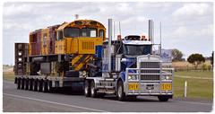 Kenworth T908 (quarterdeck888) Tags: flickr transport trucks heavy hha oversize kenworth wideload haulage quarterdeck heavyhaulage t909 heavyhaulageaustralia worldtruck jerilderietrucks