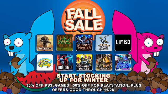 PSN: Fall Sale 2011