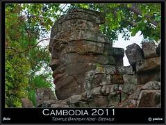 Cambodia 2011 (pharoahsax) Tags: world get colors face stone canon temple asia asien cambodge cambodia gesicht kambodscha sdostasien south east angkor bodhisattva stein tempel banteay 2011 lokeshvara kdei 40d pmbvw worldgetcolors