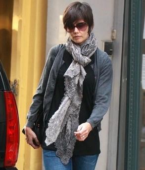 Fake-Knot scarf