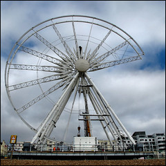 brighton wheel [ish] (garageowns) Tags: street city wheel square brighton ride hove ferris 2011
