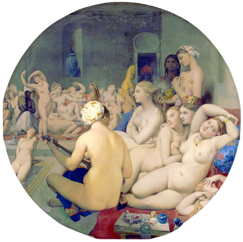 Ingres - The Turkish Bath (1862) by petrus.agricola