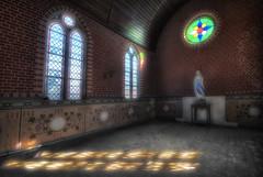 Abandoned Villa - Belgium (Benjamin Wiessner) Tags: urban abandoned church lost belgium maria sony kirche chapel villa alpha chateau exploration hdr urbex kapelle a300