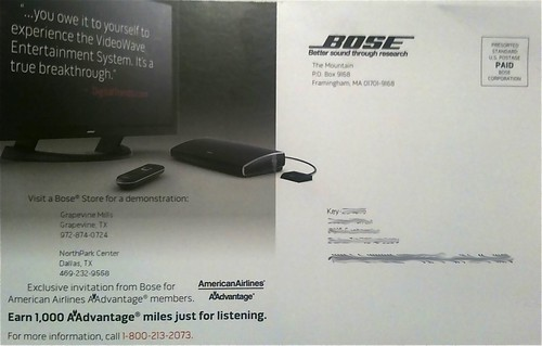 bose-aadvantage-offer