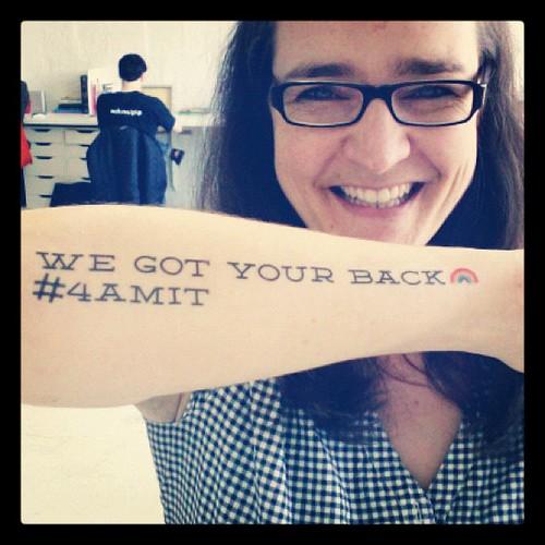 We got your back, Amit! #4AMIT