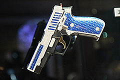 Sig Sauer with jewels P226 (corsiglia) Tags: london canon sig t3i 1755 sauer