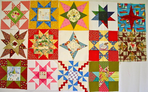 Quilting Journey Round Robin Bee Blocks - Terrie