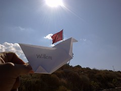 Willem in Turkey - Gndoan (The flying bird Willem) Tags: bird art make project turkey flying instructions how willem gndoan