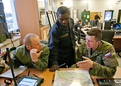Operations center (U.S. Army Europe Images) Tags: military poland multinational usarmyeurope opfor bumgardner botka opposingforces 173rdairbornebrigadecombatteam fste czibor fullspectrumtrainingevent