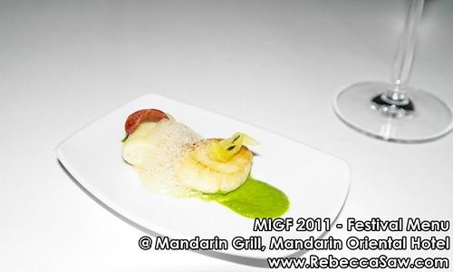 2011 MIGF - Mandarin Grill, Mandarin Oriental
